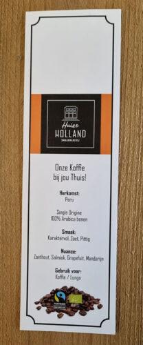 Huize-Holland-Peru-Koffie-Label