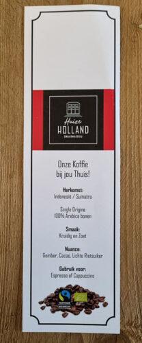 Huize-Holland-Sumatra-Koffie-Label